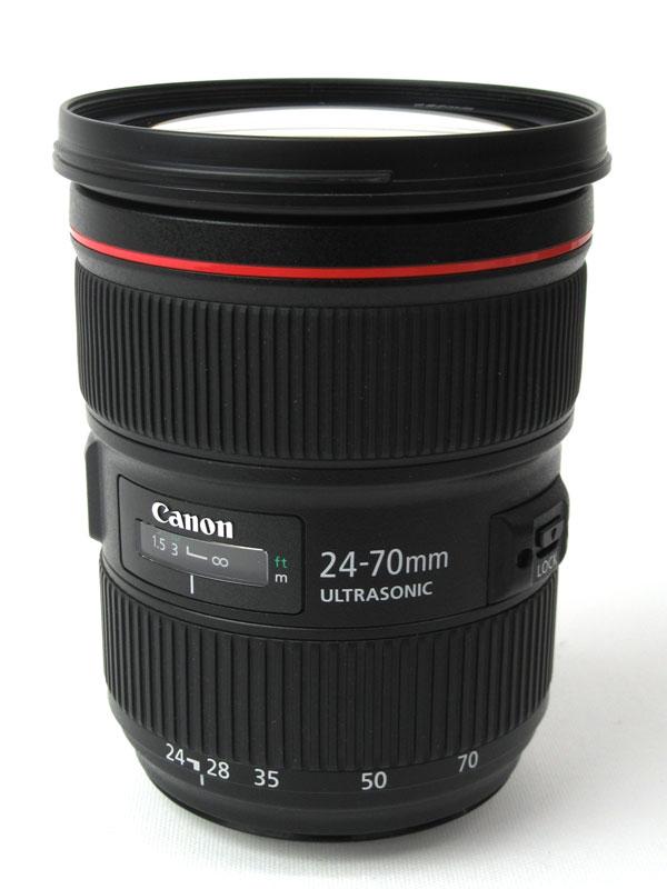 キヤノン『EF24-70mm F2.8L II USM』EF24-70L2 大口径 標準ズーム 一眼レフカメラ用レンズ 1週間保証【中古】