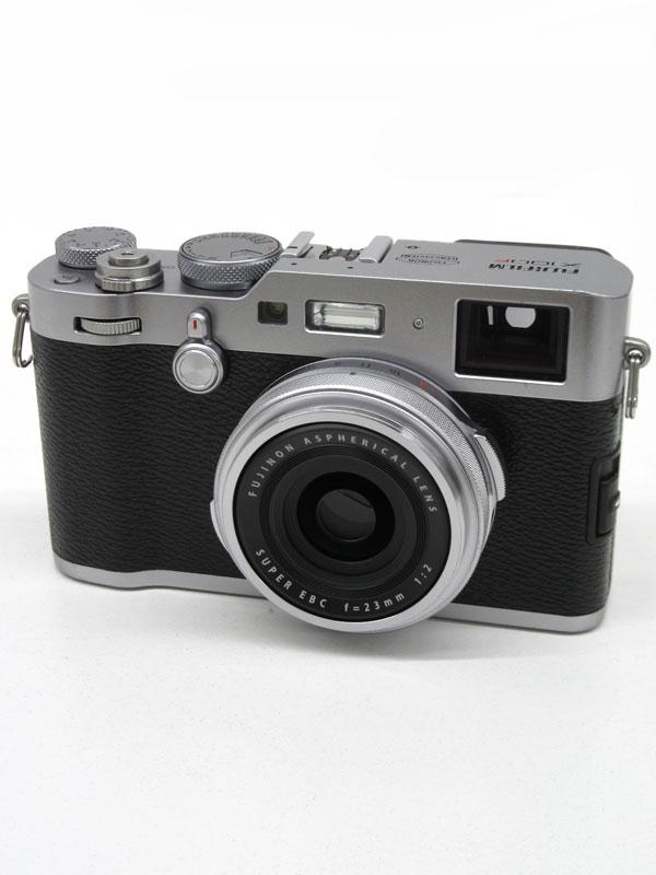 富士フイルム『FUJIFILM X100F』F X100F-S シルバー 2430万画素 35mm相当 コンパクトデジタルカメラ 1週間保証【中古】