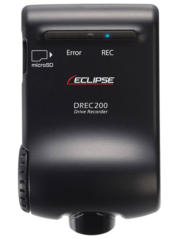 【ECLIPSE】イクリプス『ドライブレコーダー』DREC200 100万画素 1/2.7インチ DC12V対応 GPS搭載【中古】
