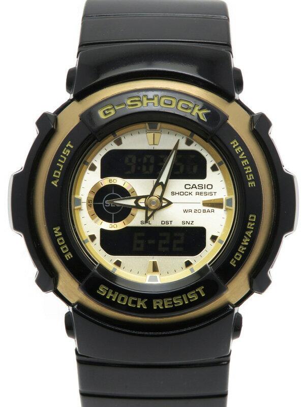 【CASIO】【G-SHOCK】カシオ『Gショック トレジャーゴールド』G-300G-9AJF メンズ クォーツ 1週間保証【中古】
