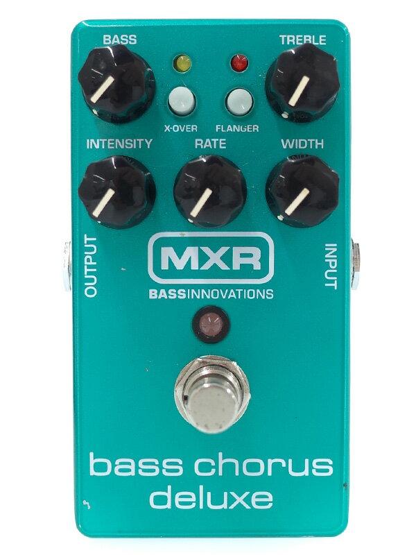 【MXR】【ベース用】エムエックスアール『コーラス』M83 Bass Chorus Deluxe コンパクトエフェクター 1週間保証【中古】
