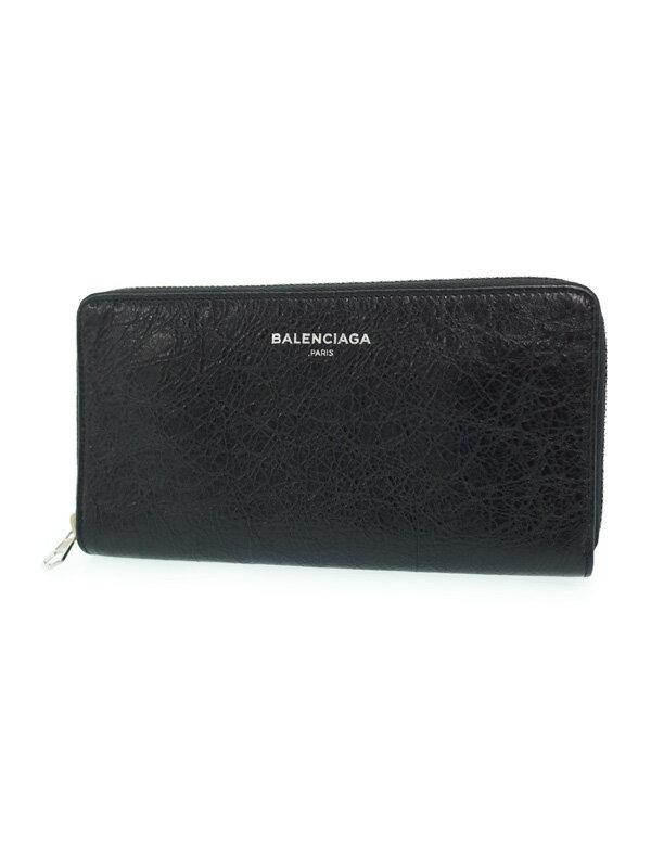 【BALENCIAGA】バレンシアガ『ラウンドファスナー長財布』419805 レディース 1週間保証【中古】