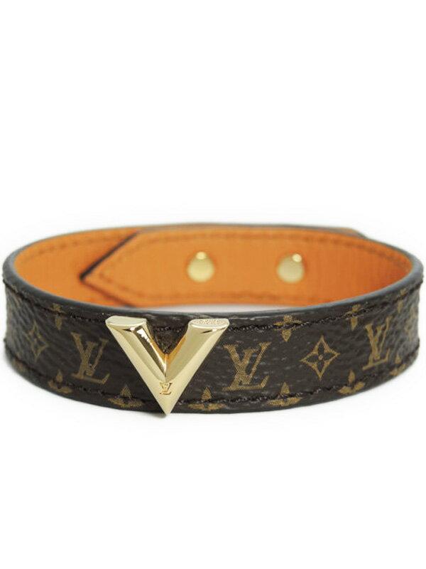 【Louis Vuitton】ルイヴィトン『ブラスレ・エセンシャル V』M6042F ブレスレット 1週間保証【中古】