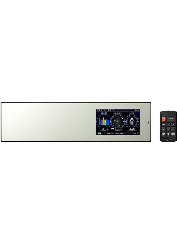 コムテック『ミラーレーダー探知機』ZERO802M 4.0インチMVA ゾーン30 ミラー加工 Gセンサー microSDHC GPSレーダー探知機【新品】