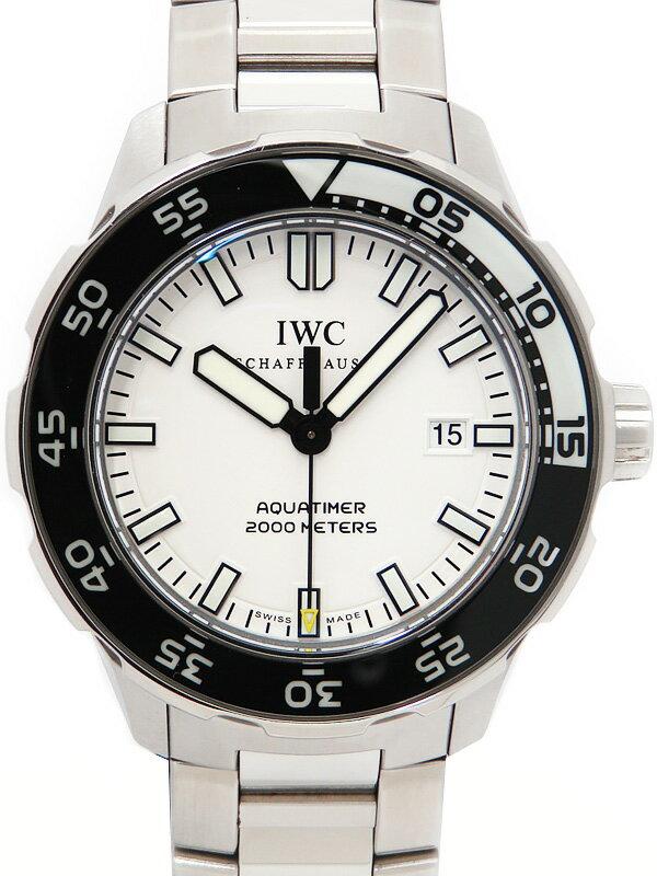 【IWC】インターナショナルウォッチカンパニー『アクアタイマー オートマティック 2000』IW356805 メンズ 自動巻き 3ヶ月保証【中古】