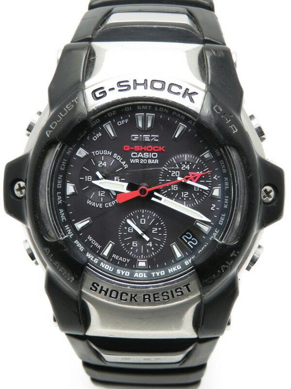 【CASIO】【G-SHOCK】【GIEZ】カシオ『Gショック ジーズ』GS-1000J-1AJF メンズ ソーラー電波クォーツ 1週間保証【中古】