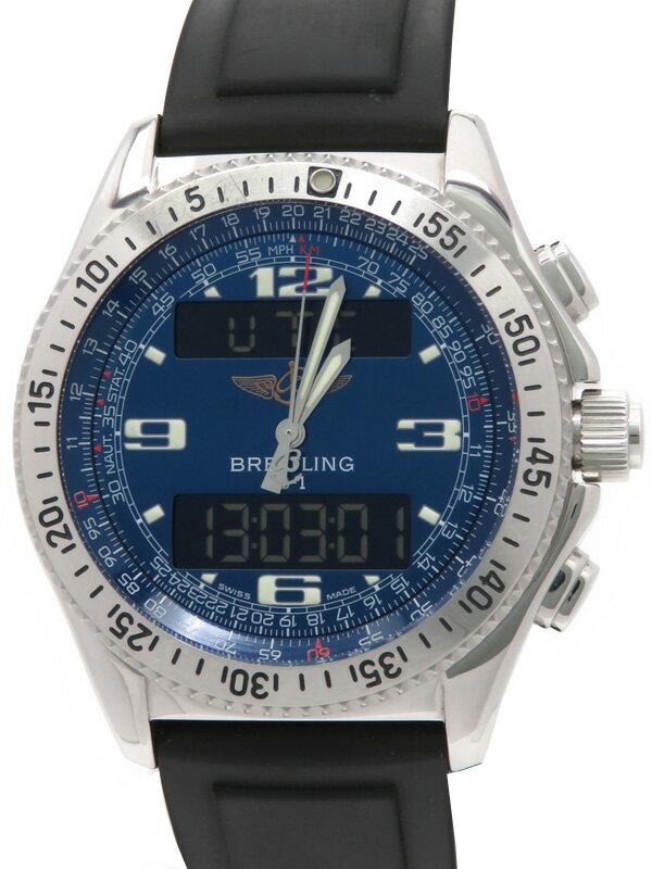 【BREITLING】【電池交換済】ブライトリング『B-1 デジアナ』A68362 メンズ クォーツ 3ヶ月保証【中古】