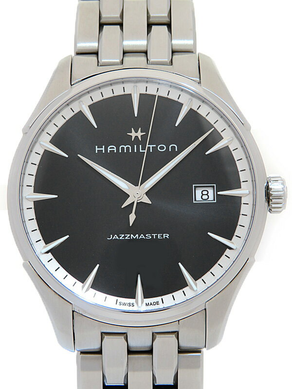 【HAMILTON】【'17年購入】ハミルトン『ジャズマスター ジェント』H32451131 メンズ クォーツ 1週間保証【中古】