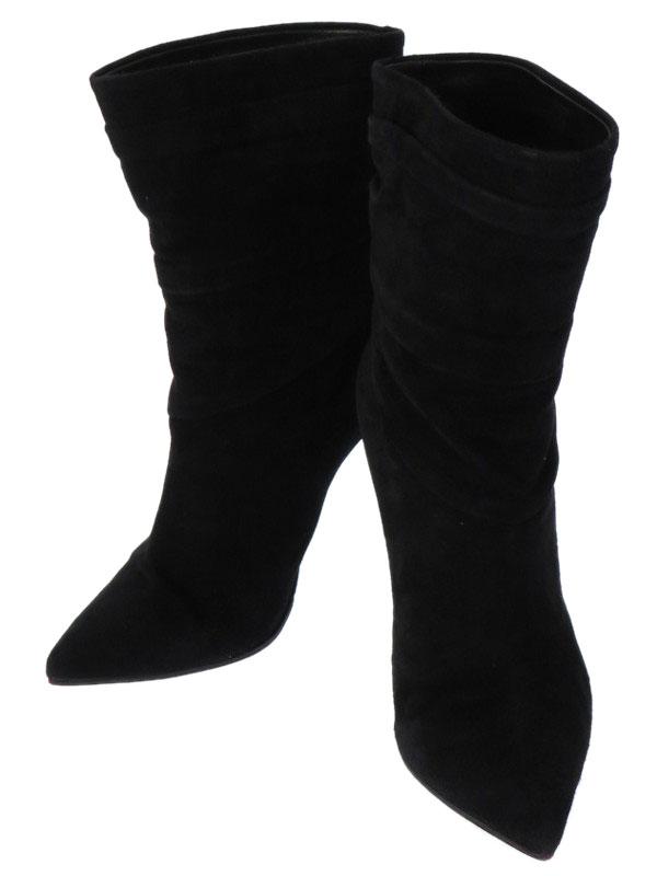 【Christian Louboutin】【底張り済】クリスチャンルブタン『Ishtar Booty 100 size35 1/2』レディース ブーツ 1週間保証【中古】