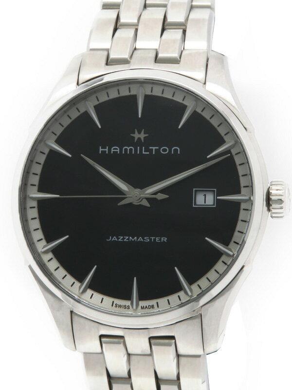 【HAMILTON】【'16年購入】ハミルトン『ジャズマスター ジェント』H32451131 メンズ クォーツ 1週間保証【中古】