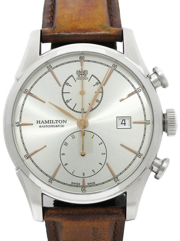 【HAMILTON】【裏スケ】ハミルトン『ジャズマスター スピリット オブ リバティー』H32416581 メンズ 自動巻き 1週間保証【中古】