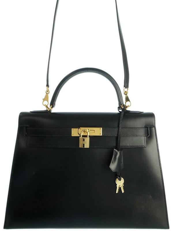 【HERMES】【ゴールド金具】エルメス『ケリー32 外縫い』I刻印 2005年製 レディース 2WAYバッグ 1週間保証【中古】