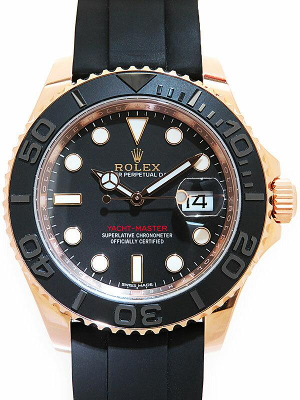 【ROLEX】【'16年購入】ロレックス『ヨットマスター40』116655 ランダム製番 メンズ 自動巻き 12ヶ月保証【中古】