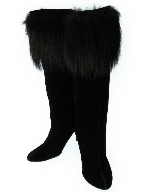 【Ferragamo】フェラガモ『ミドルブーツ size7B』レディース 1週間保証【中古】