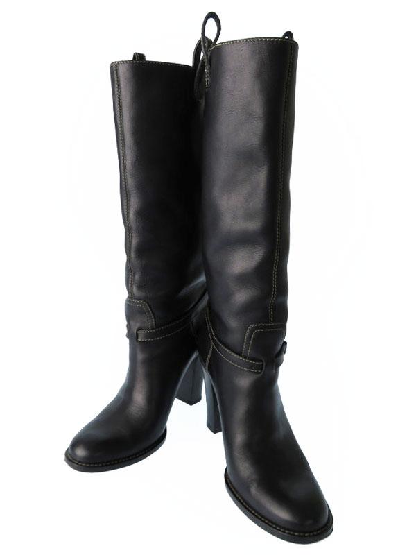 【GUCCI】グッチ『ミドルブーツ size35 1/2』182166 レディース 1週間保証【中古】