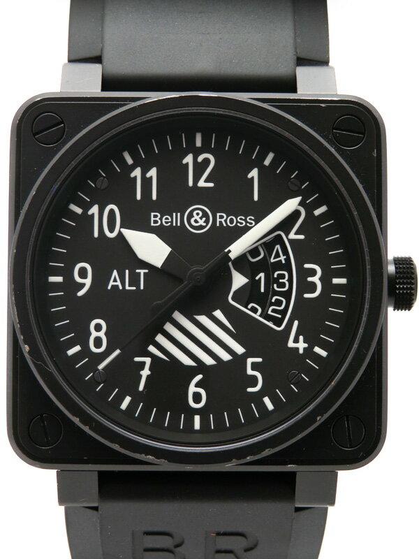 【Bell&Ross】【世界限定999本】【OH済】ベルアンドロス『アルティメーター』BR01-96 メンズ 自動巻き 3ヶ月保証【中古】