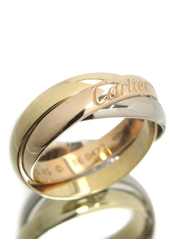 【Cartier】カルティエ『トリニティ リング』5号 1週間保証【中古】