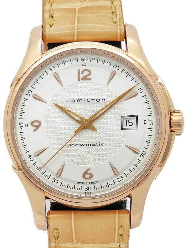 【HAMILTON】【裏スケ】ハミルトン『ジャズマスター ビューマチック』H32545555 メンズ 自動巻き 1ヶ月保証【中古】