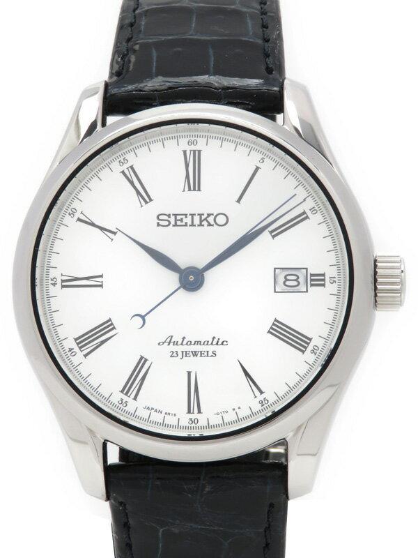 【SEIKO】【裏スケ】セイコー『プレサージュ』SARX019 6O**** メンズ 自動巻き 1ヶ月保証【中古】