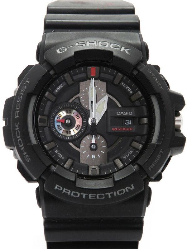 【CASIO】【G-SHOCK】【電池交換済】カシオ『Gショック』GAC-100-1AJF メンズ クォーツ 1週間保証【中古】