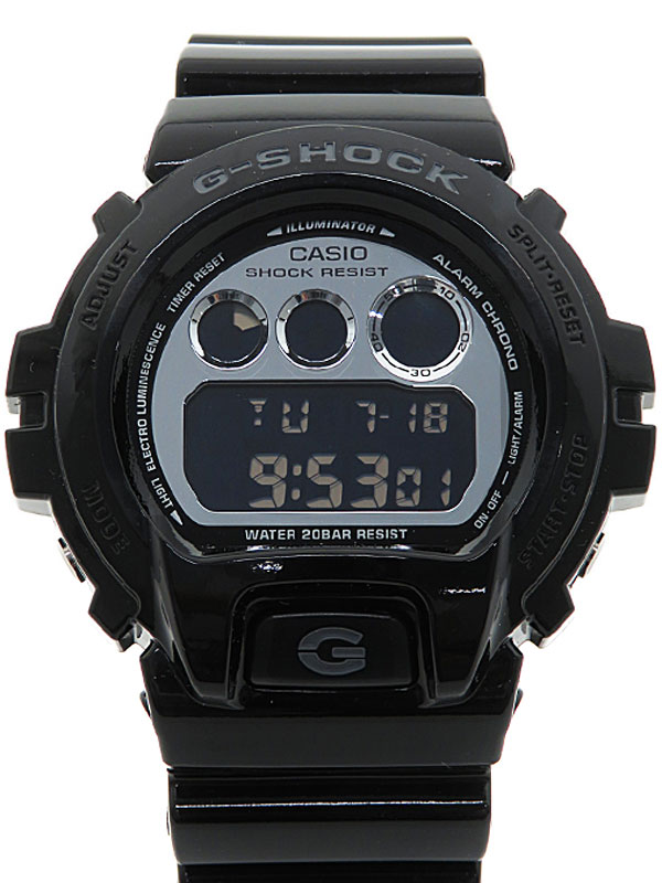 【CASIO】【G-SHOCK】【海外モデル】カシオ『Gショック メタリックカラーズ』DW-6900NB-1DR メンズ クォーツ 1週間保証【中古】