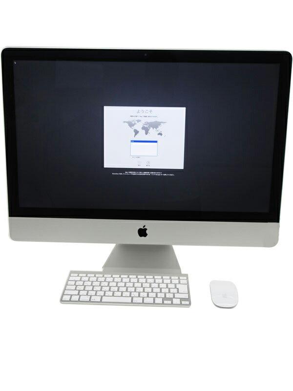 【Apple】アップル『iMac 3200/27』ME088J/A Late 2013 1TB Yosemite デスクトップPC【中古】