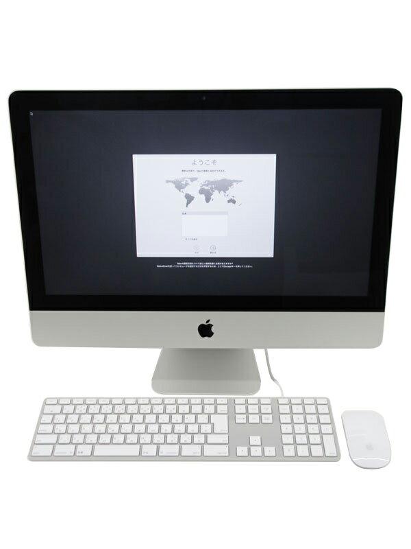 【Apple】アップル『iMac 2800/21.5 カスタムモデル』Z0RR0000F(MK442J/A) Late 2015 1TB Sierra デスクトップPC【中古】