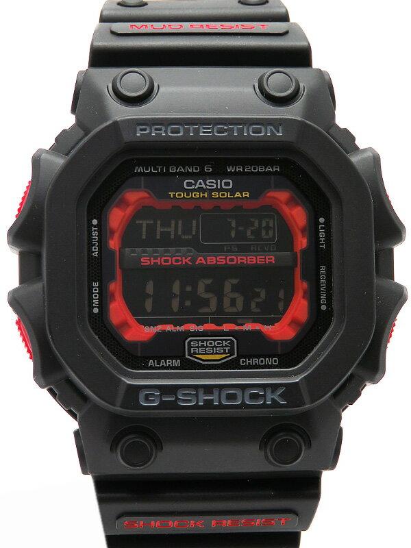 【CASIO】【G-SHOCK】【美品】カシオ『Gショック GXシリーズ』GXW-56-1AJF メンズ ソーラー電波クォーツ 1週間保証【中古】