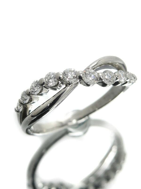 セレクトジュエリー『PT900リング ダイヤモンド0.40ct』12号 1週間保証【中古】