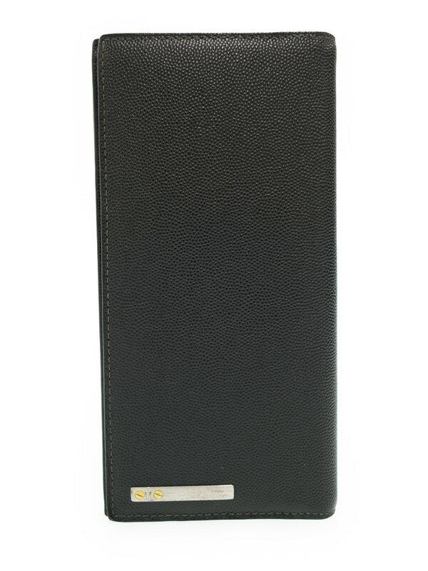 【Cartier】カルティエ『サントス ドゥ カルティエ 二つ折り長財布』L3000769 メンズ 1週間保証【中古】