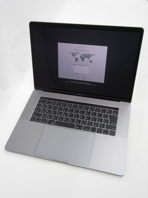 【Apple】アップル『MacBook Pro Retinaディスプレイ 2600/15.4』MLH32J/A スペースグレイ Late 2016 256GB Sierra ノートPC【中古】