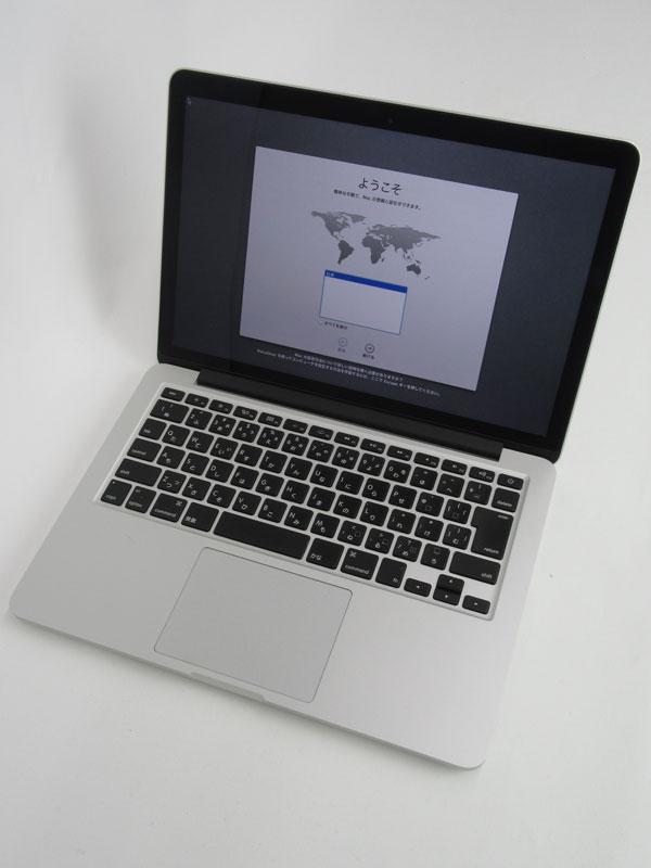 【Apple】アップル『MacBook Pro Retinaディスプレイ 2500/13.3』MD212J/A Late 2012 128GB Mountain Lion ノートPC【中古】