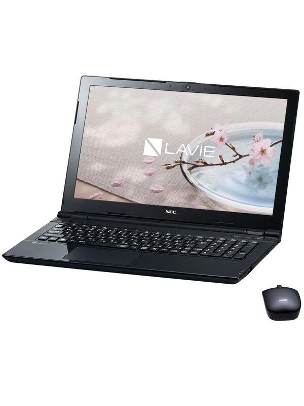 【NEC】エヌイーシー『LAVIE Note Standard NS150/GAB』PC-NS150GAB Windows10 スターリーブラック 15.6型 1TB Office ノートPC【中古】