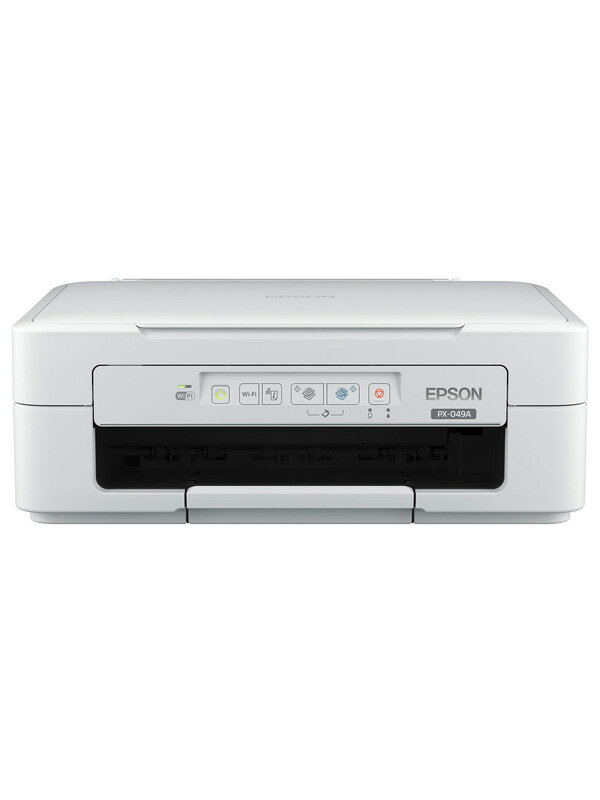 【EPSON】エプソン『Colorio(カラリオ)』PX-049A プリント コピー スキャン Wi-Fi USB インクジェット複合機 1週間保証【中古】