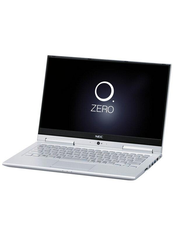 【NEC】エヌイーシー『LAVIE Hybrid ZERO HZ350/GAS』PC-HZ350GAS Windows10 ムーンシルバー 13.3型FHD 128GB Office ノートPC【中古】