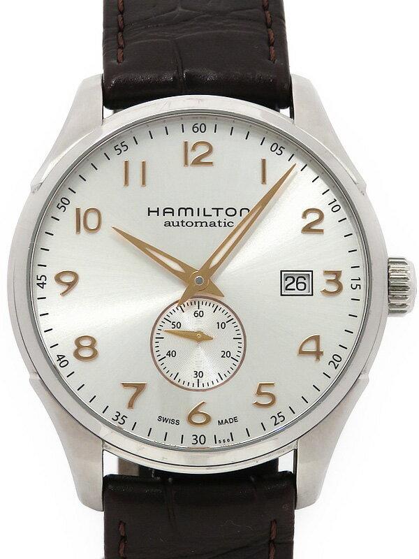 【HAMILTON】【裏スケ】【内部点検済】ハミルトン『マエストロ スモールセコンド』H42515555 メンズ 自動巻き 1ヶ月保証【中古】