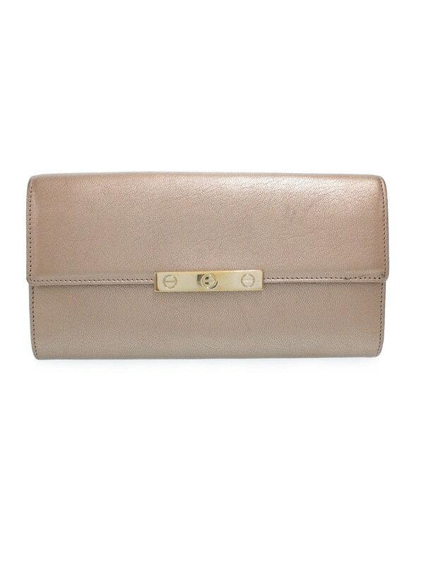 【Cartier】カルティエ『ラブコレクション 長財布』L3001375 レディース 二つ折り長財布 1週間保証【中古】