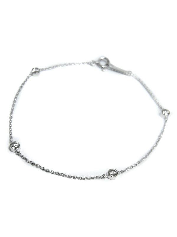 【仕上済】セレクトジュエリー『K18WGブレスレット ダイヤモンド0.50ct』1週間保証【中古】