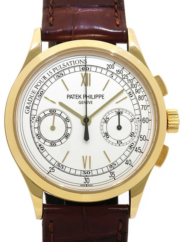 【PATEK PHILIPPE】【Cal.29-535】【裏スケ】パテックフィリップ『コンプリケーション クロノグラフ』5170J-1 メンズ 手巻き 6ヶ月保証【中古】