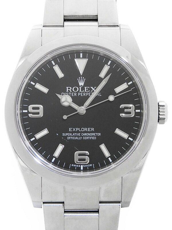 【ROLEX】ロレックス『エクスプローラー1』214270 G番'10年頃製 メンズ 自動巻き 12ヶ月保証【中古】