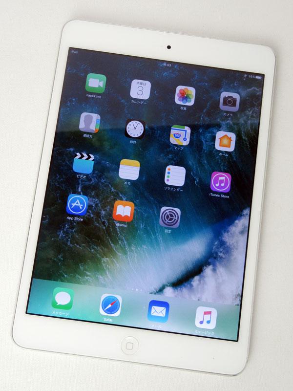 【Apple】アップル『iPad mini 2 店頭デモ機モデル Wi-Fi 16GB』ME785J/A(ME279J/A) シルバー 7.9インチ Retina タブレット型端末【中古】