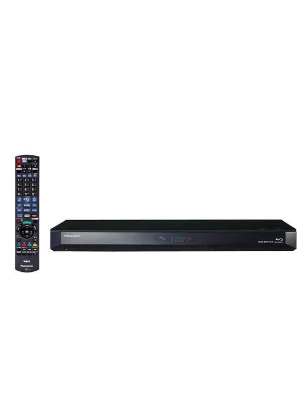 パナソニック『ブルーレイディスク/DVDレコーダー』DMR-BRW1010 1TB 2チューナー 外付けHDD対応 Wi-Fi内蔵【中古】