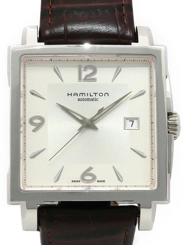 【HAMILTON】【裏スケ】ハミルトン『ジャズマスター』H32415555 メンズ 自動巻き 1ヶ月保証【中古】