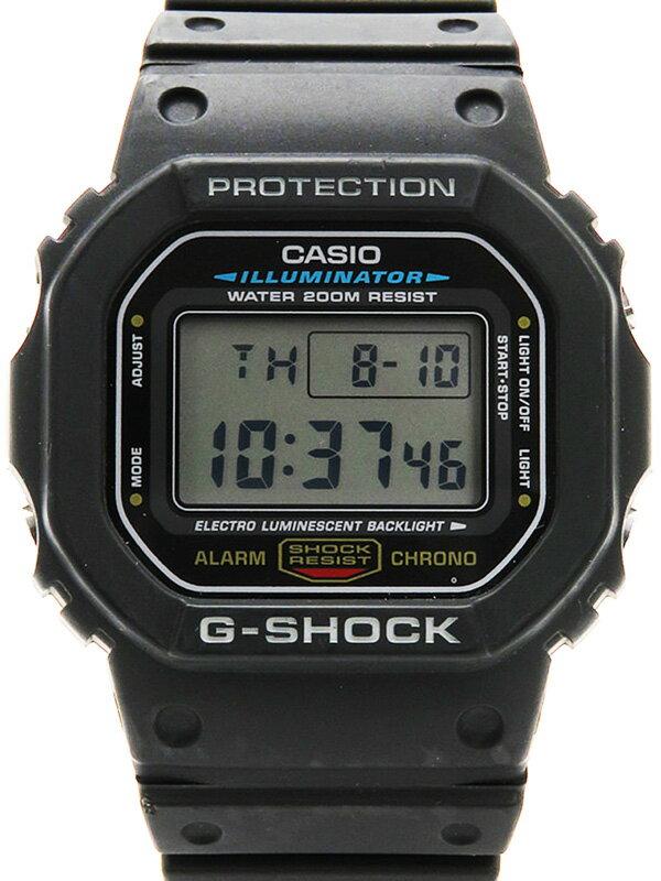 【CASIO】【G-SHOCK】カシオ『Gショック』DW-5600E-1 ボーイズ クォーツ 1週間保証【中古】
