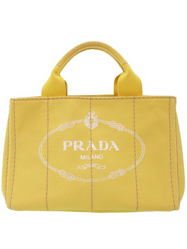 【PRADA】プラダ『ミニカナパ ハンドバッグ』BN2439 レディース 1週間保証【中古】