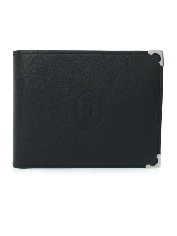 【Cartier】カルティエ『カボション 二つ折り短財布』L3000595 ユニセックス 1週間保証【中古】