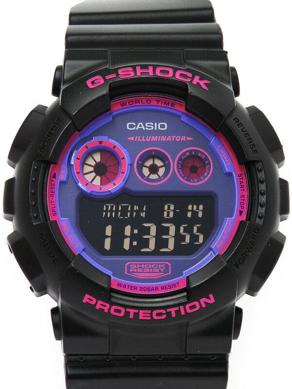 【CASIO】【G-SHOCK】カシオ『Gショック』GD-120N-1B4JF メンズ クォーツ 1週間保証【中古】