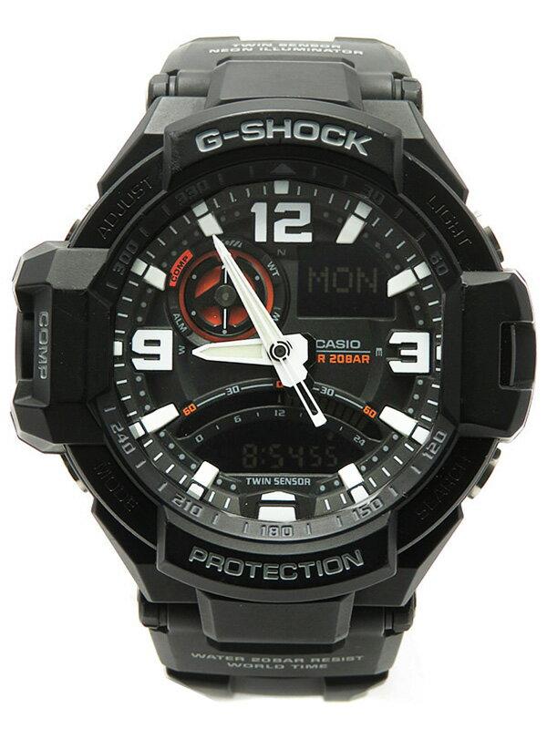 【CASIO】【G-SHOCK】カシオ『Gショック スカイコックピット』GA-1000-1AJF メンズ クォーツ 1週間保証【中古】