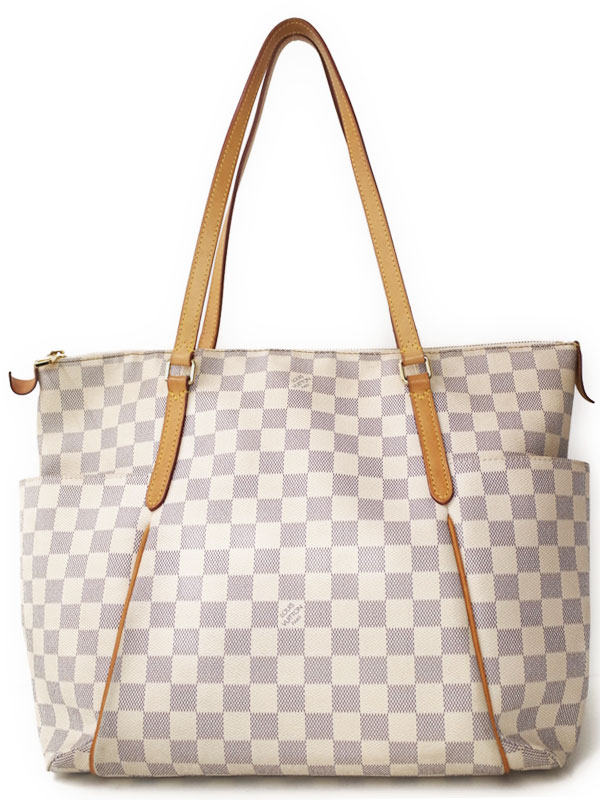 【LOUIS VUITTON】ルイヴィトン『ダミエ アズール トータリーMM』N41279 レディース トートバッグ 1週間保証【中古】