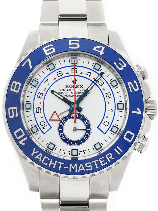 【ROLEX】【美品】ロレックス『ヨットマスター2』116680 ランダム番 メンズ 自動巻き 12ヶ月保証【中古】